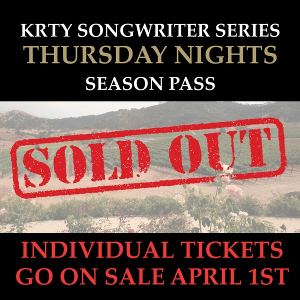 KRTY 2020 Season Pass (Thurs): SOLD OUT