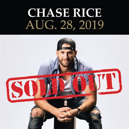 KRTY: Chase Rice: Aug. 28, 2019