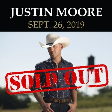 KRTY: Justin Moore: September 26th 2019