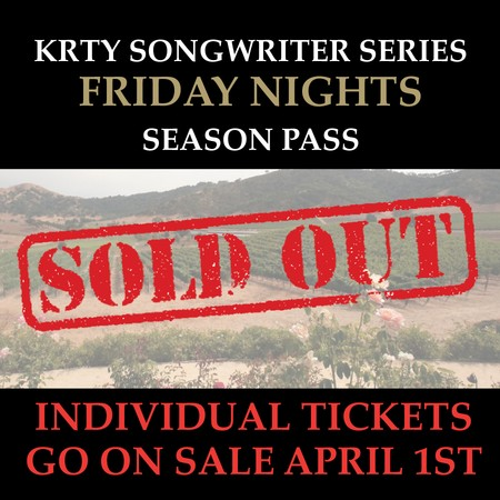 KRTY 2020 Season Pass (Friday): SOLD OUT