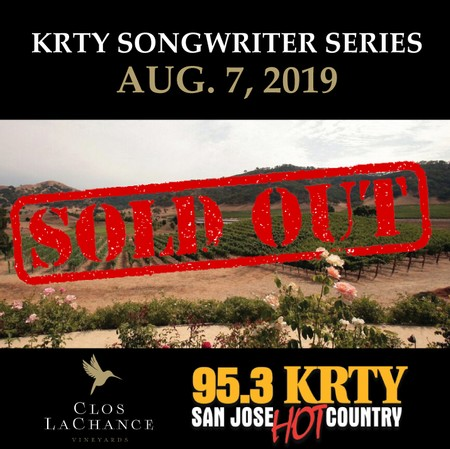 KRTY Songwriters Series:  August 7th  2019