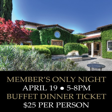 Member's Only Night Buffet Dinner