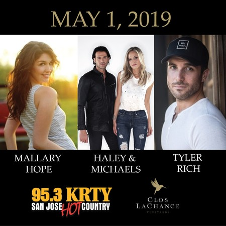 KRTY: Tyler Rich, Mallary Hope and Haley & Michaels